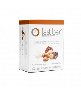ProLon Fast Bar – Nuts & Cacao Nibs – Box of 10 Bars
